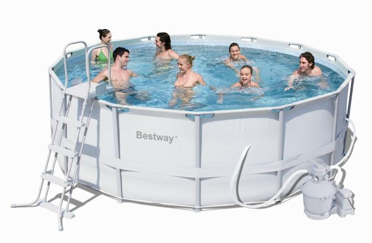 Foto piscina desmontable 412x201x122 56244 foto 325864 - Depuradora de arena para piscina desmontable ...