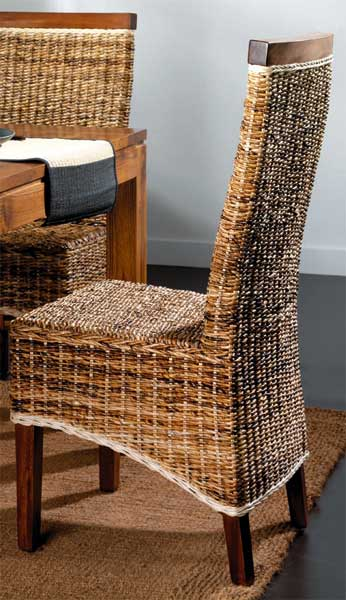 Foto silla anea olas foto 886922 - Sillones de mimbre precios ...