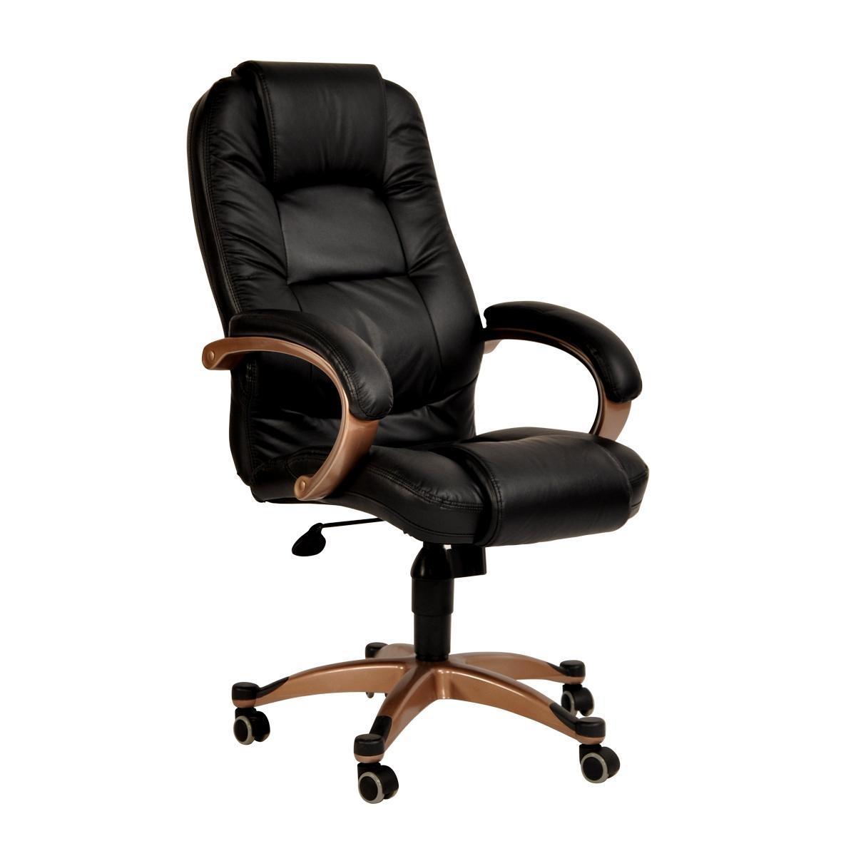 foto silla de oficina toronto color negro foto 41654. Black Bedroom Furniture Sets. Home Design Ideas