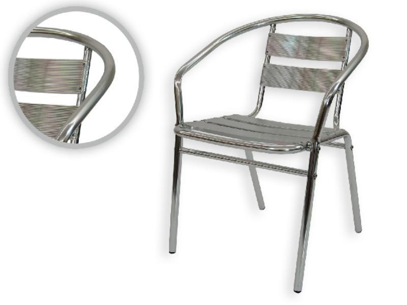 Foto silla terraza jardin aluminio 81012 foto 128870 - Sillas de aluminio para jardin ...