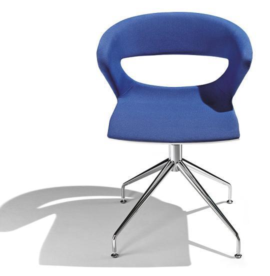 Foto sillas de oficina madera kimbox kr04 kastel foto 252571 for Sillas para oficina de madera