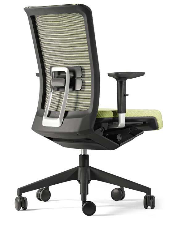 Foto silla de oficina stay de actiu en malla color lila - Silla ergonomica ikea ...