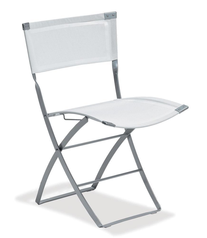 Foto sillas plegables de metal axa 125 emu foto 964788 for Sillas de jardin plegables