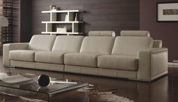 Foto sof chaise longue kao piel granfort foto 842674 for Sofas calidad marcas