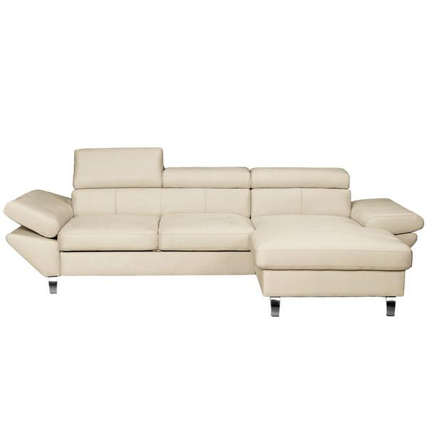 Foto sof cama de 3 plazas con chaiselongue izquierdo - Sofa cama en ingles ...