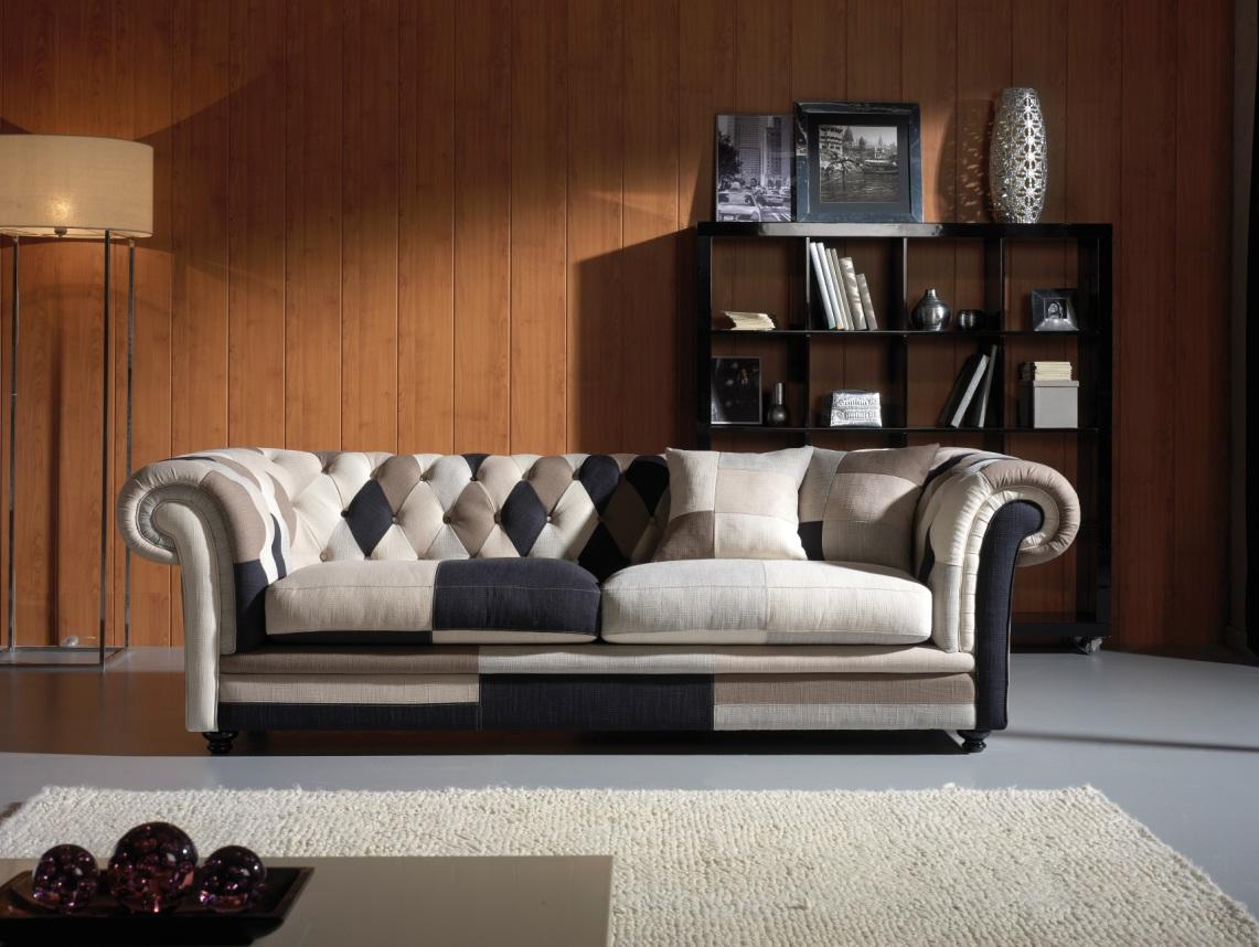 Foto sof chester patchwork canc n foto 383623 - Sofas chester ...