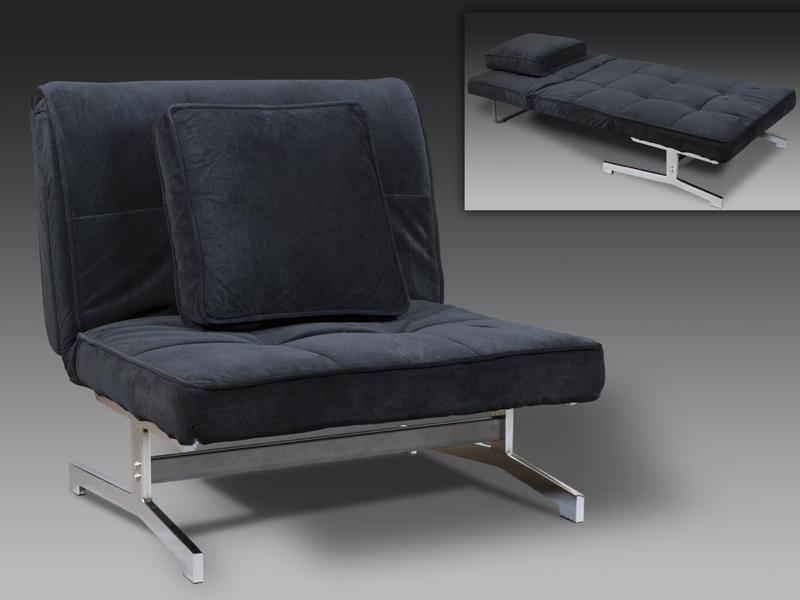 Foto sofa cama negro 2p foto 191006 for Divan cama completo