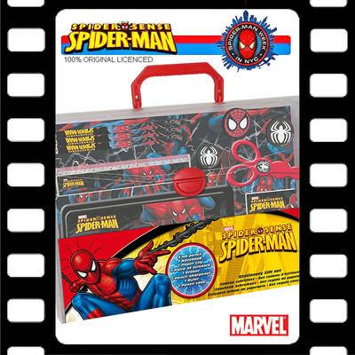 Foto Spiderman Set Maletin Papeleria Muñeco Super Heroe Marvel - Stationery Gift Set