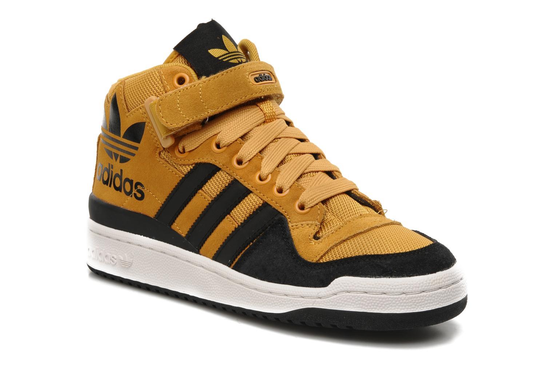 promo code 44411 9b018 ... adidas forum mid yellow orange . ...