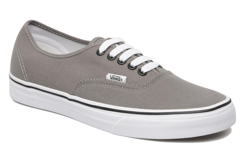 Zapatos grises Vans Authentic para hombre scvDG