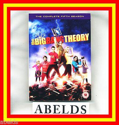 Foto The Big Bang Theory Temporada 5 Castellano Dvd Env.24h Temp.quinta Pack Tv Nuevo