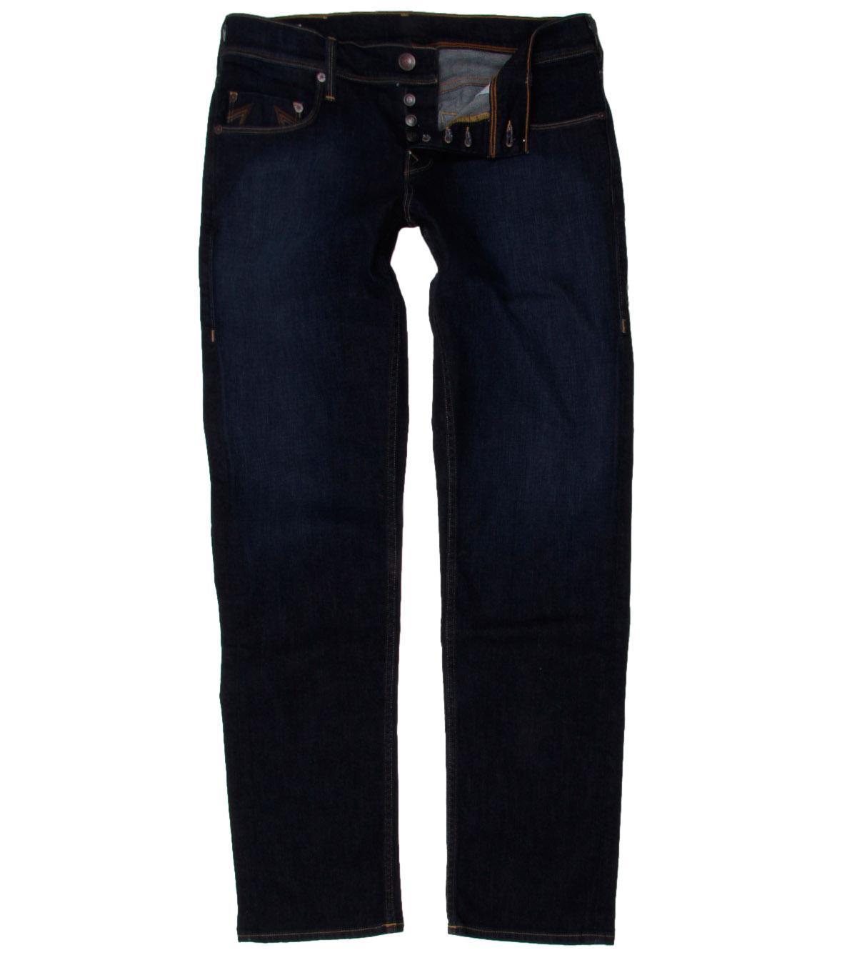 foto true religion ricky negro jeans pierna recta foto 368493. Black Bedroom Furniture Sets. Home Design Ideas