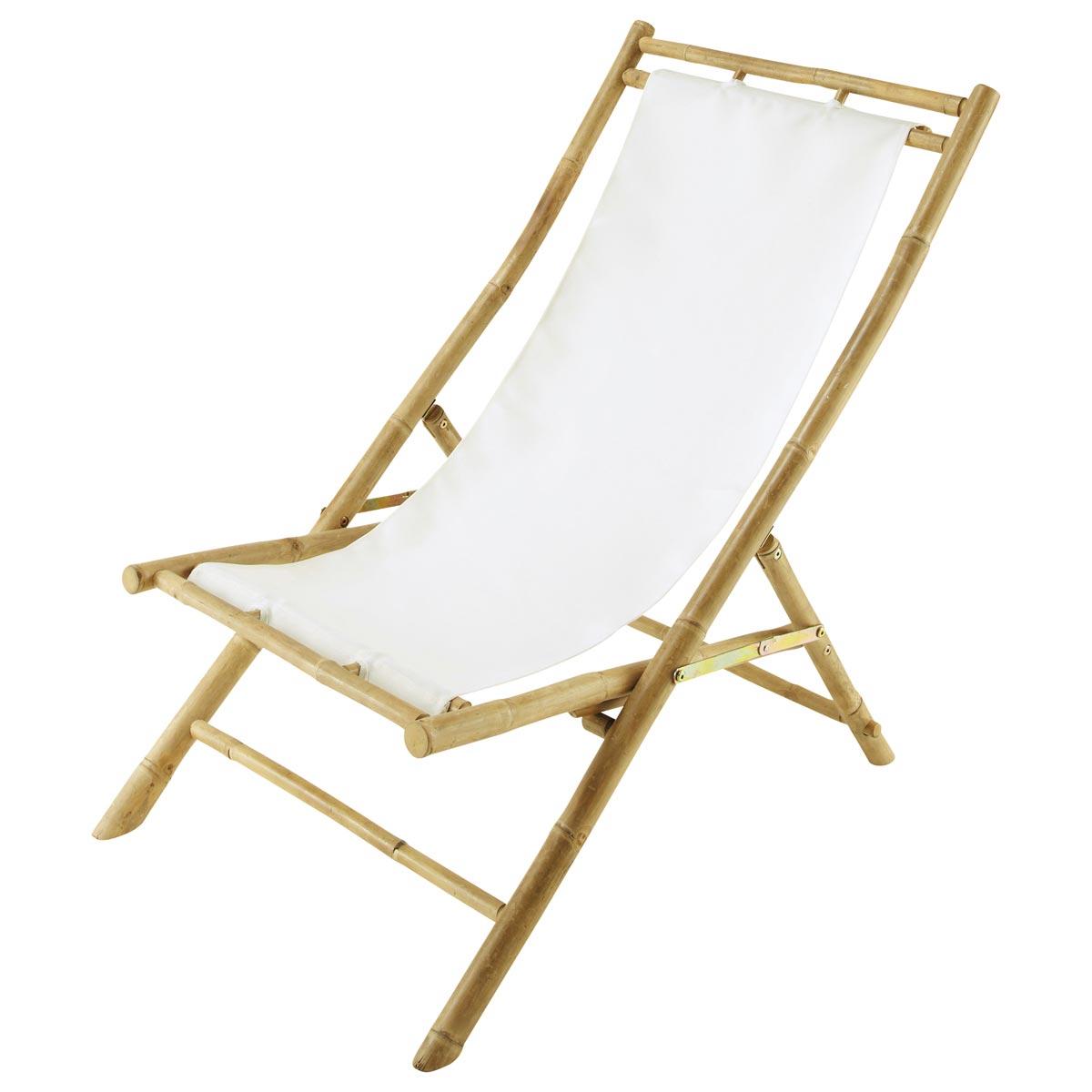 foto tumbona silla de playa plegable bamb negro