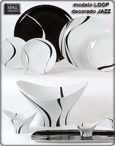 Foto vajilla navidad 44 piezas christmas magic vista for Vajillas porcelana clasicas