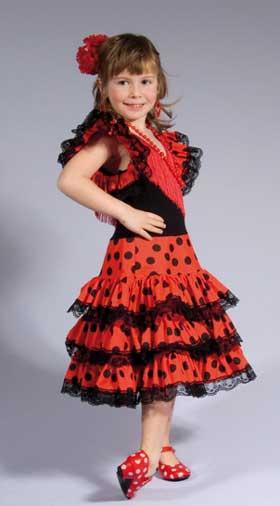 foto vestido flamenca nina: