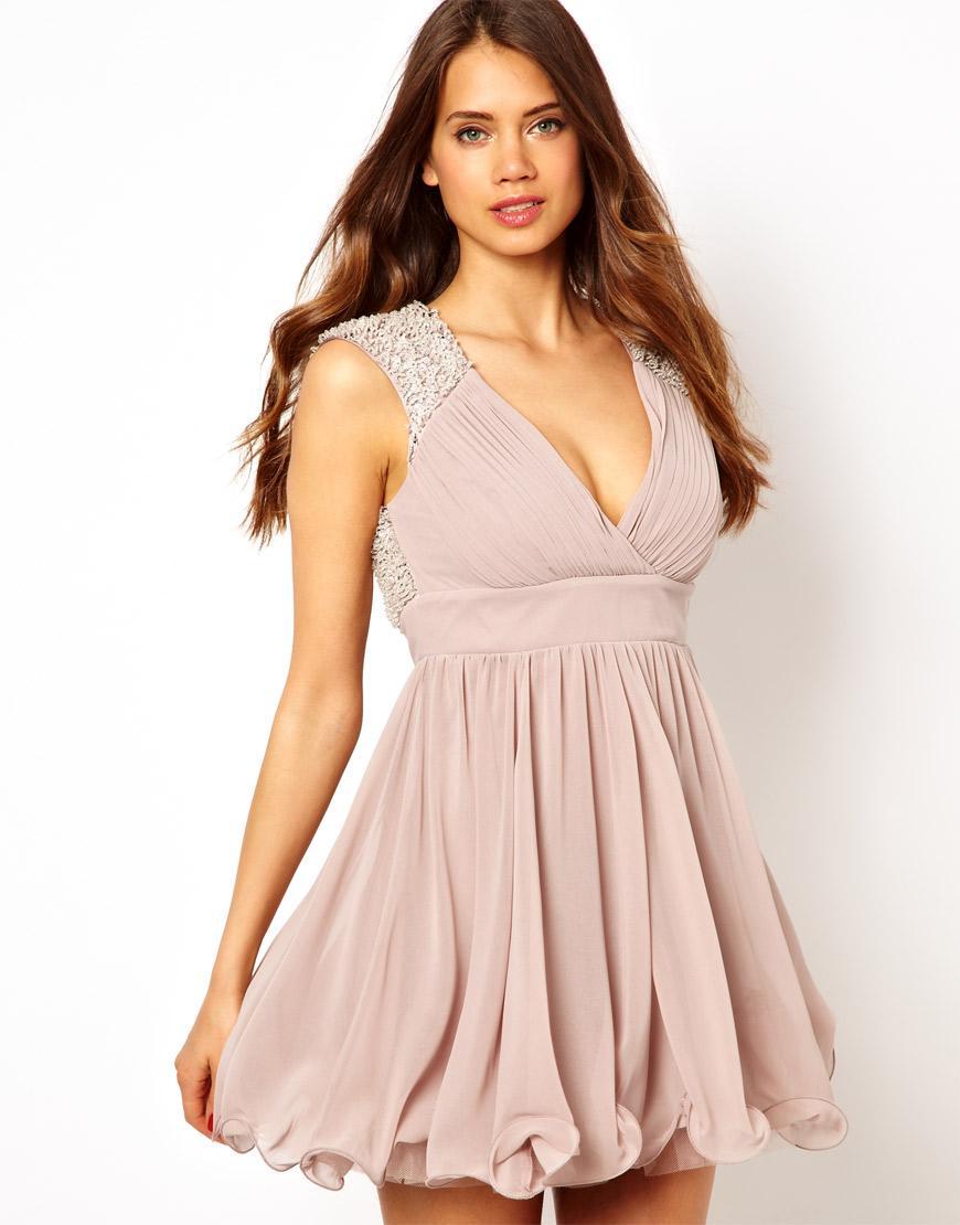 Excepcional Vestido De Baile De Londres Lipsy Viñeta - Ideas de ...