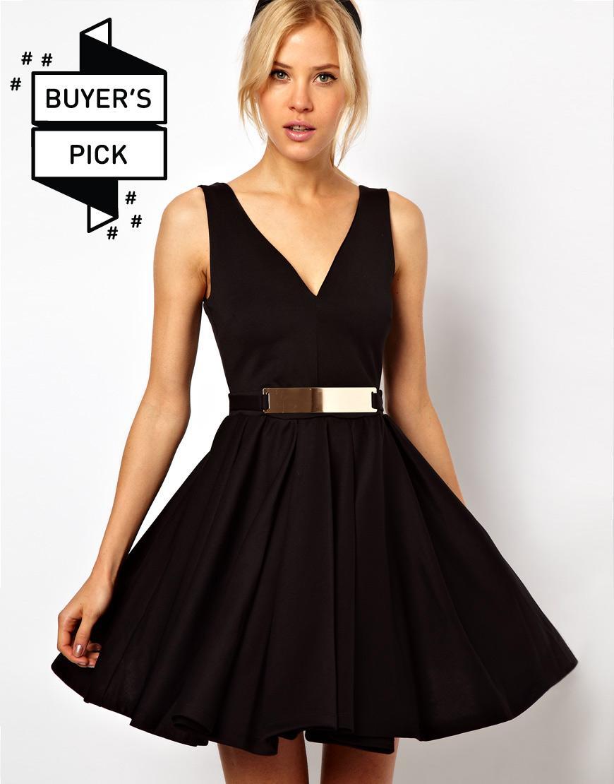 Золотисто Черное Платье Доставка