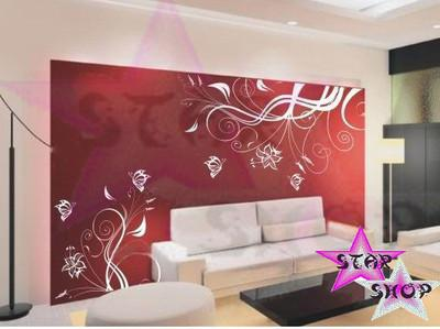 Foto vinilo decorativo flor adhesivo pegatina pared - Vinilos decorativos comedor ...