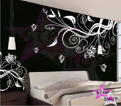 Foto vinilo flor decorativo adhesivo pegatina pared - Vinilos pared comedor ...
