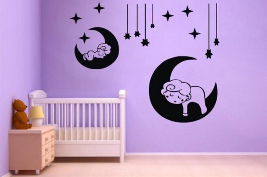 Foto Vinilos Decorativos Infantiles De Estrellas Para