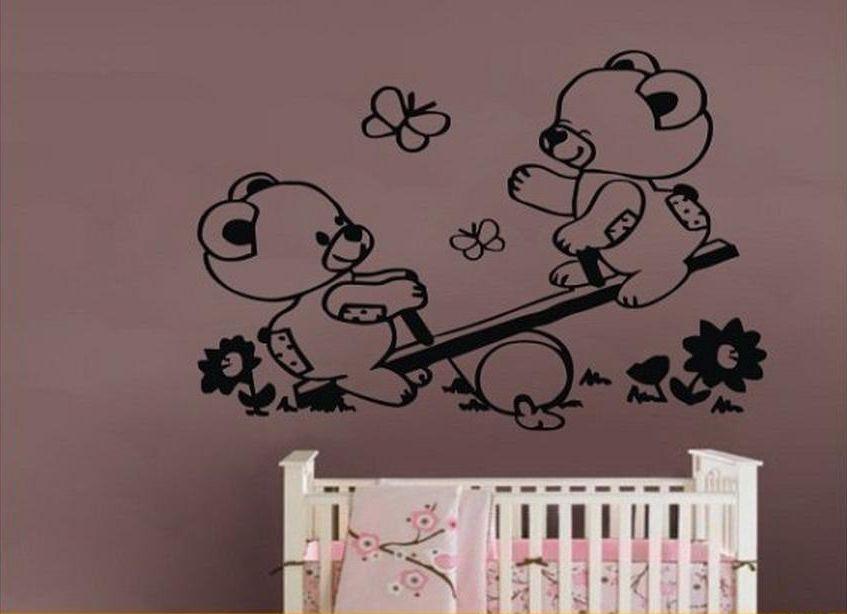 Foto vinilos decorativos infantiles de ositos para bebes for Murales decorativos para bebes