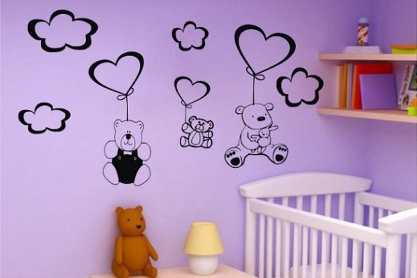 Foto vinilos decorativos infantiles de ositos para bebes for Vinilos infantiles para ninas