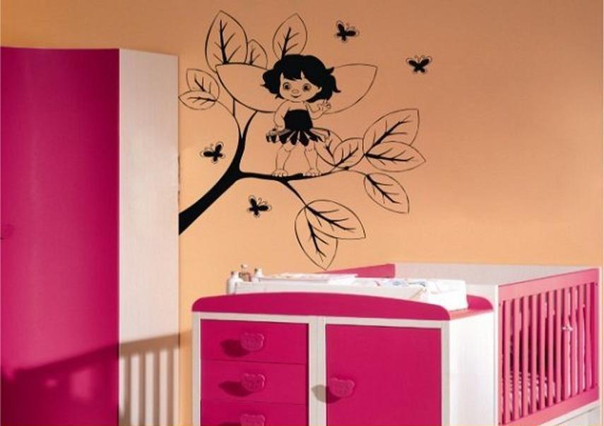Foto vinilos decorativos infantiles para bebes ni a for Vinilos juveniles nina