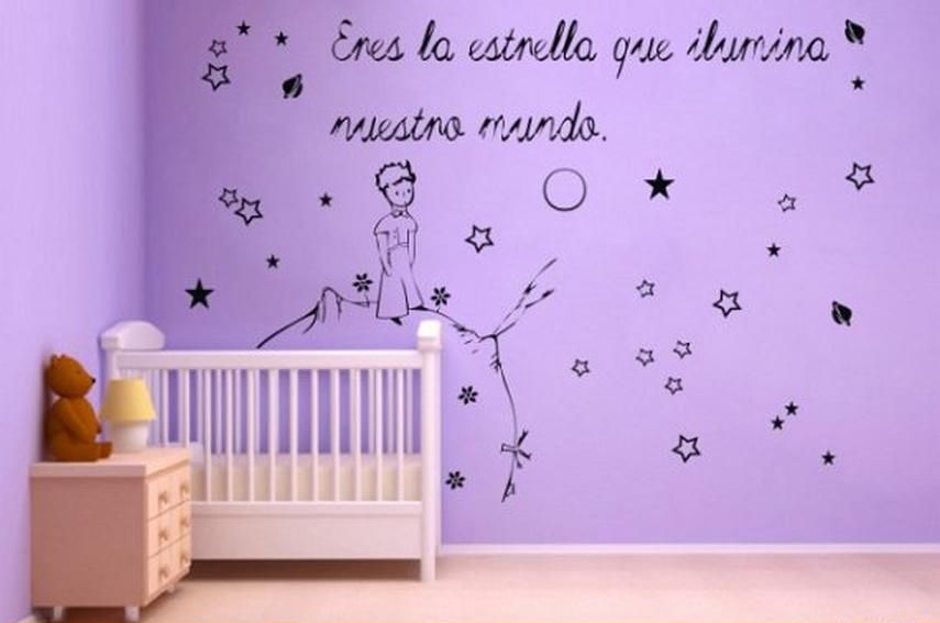 Foto vinilos infantiles el principito aqm1447 foto 128330 - Imagenes de vinilos infantiles ...