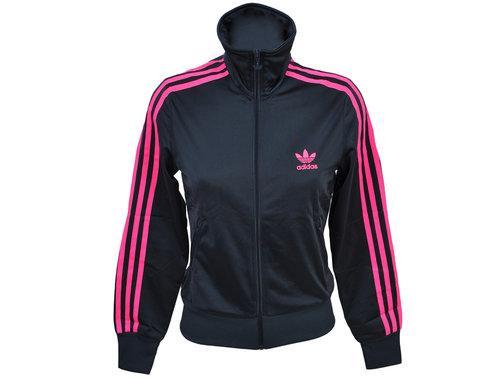 chaqueta adidas mujer rosa y negra