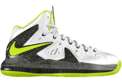newest ebb4b 5087a Foto Zapatillas de baloncesto LeBron X P.S. Elite iD - Mujer - Amarillo -  15.5 foto 367816