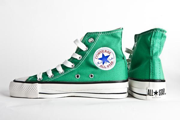converse verde claro