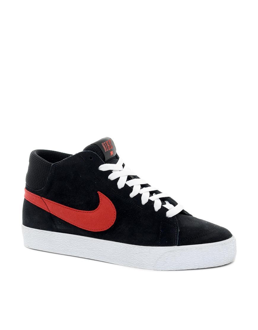Foto zapatillas de deporte altas skateboard blazer de nike for Foto nike blazer