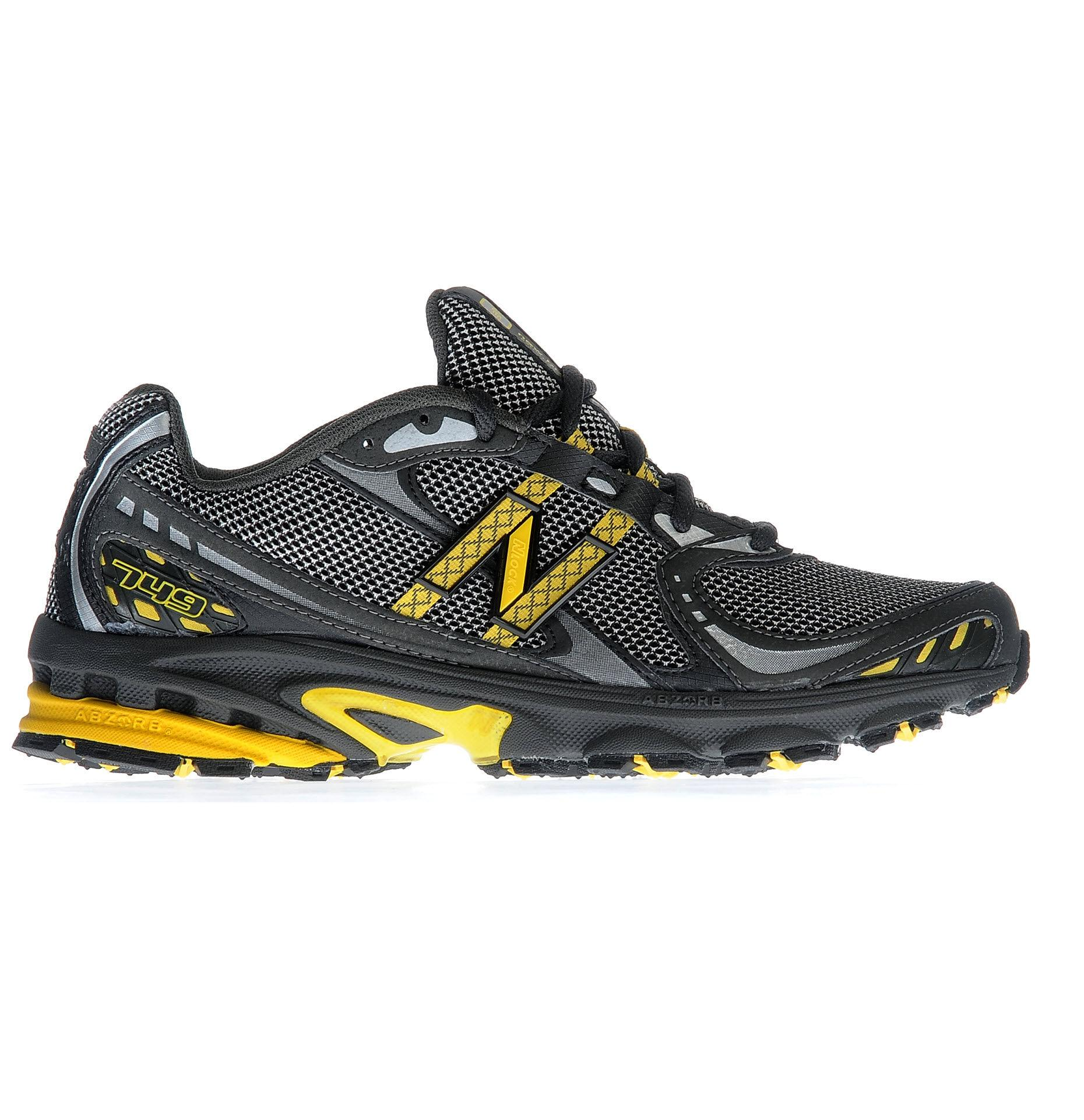Foto Zapatillas de Trail New Balance - MR749 - D Width UK8 Grey/Yellow
