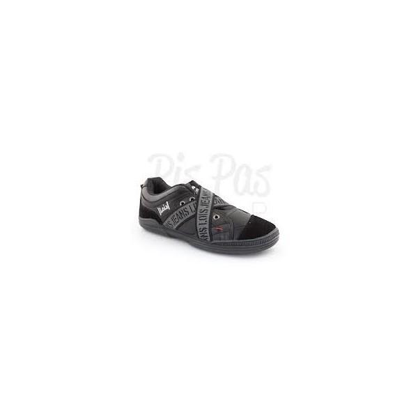 2f2b6675f Foto Zapatillas deportivas elasticos lois 44 Negro foto 398696