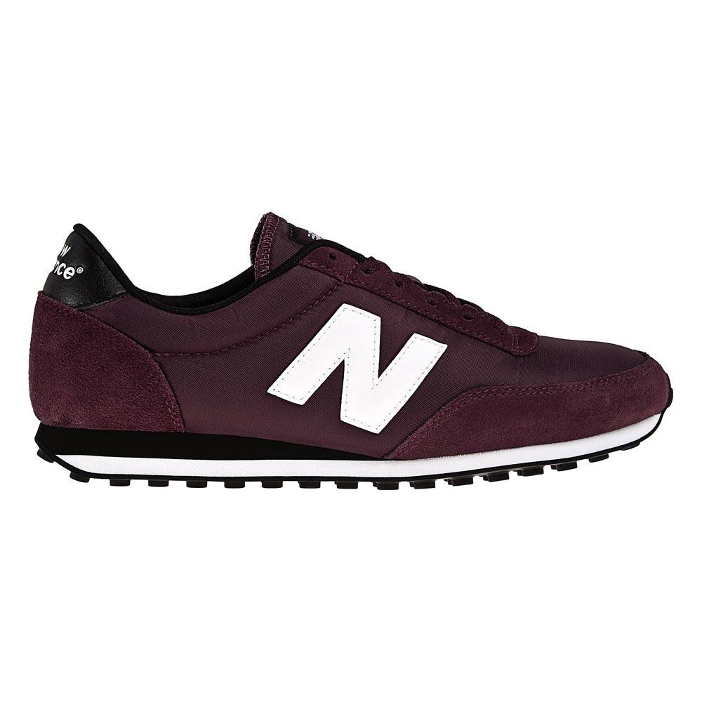 Foto Zapatillas New Balance U410 burgundy/negro
