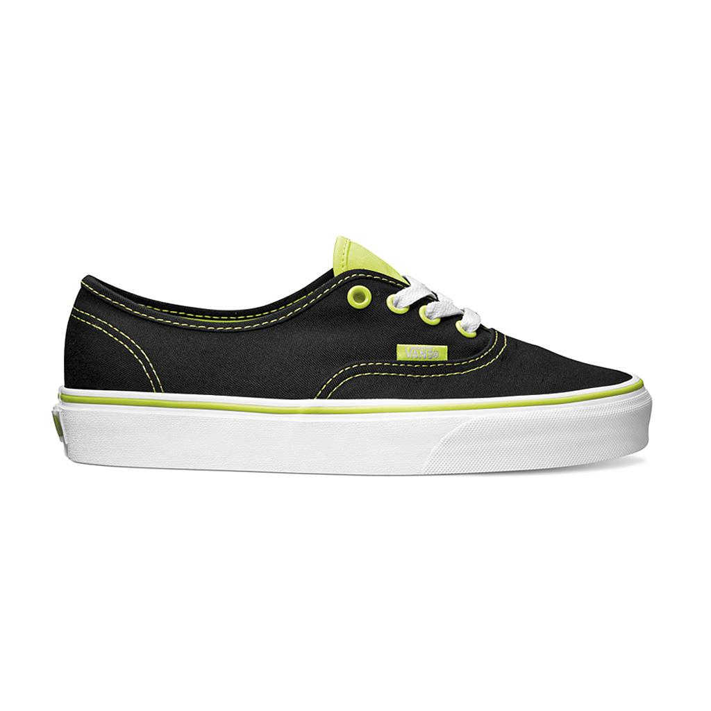 Foto Zapatillas Vans Authentic Amarillo/Negro