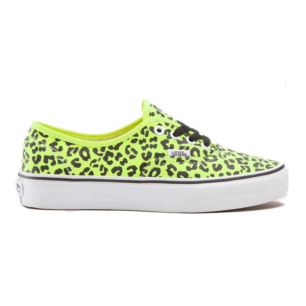 Foto Zapatillas Vans Authentic Leopard Amarillo