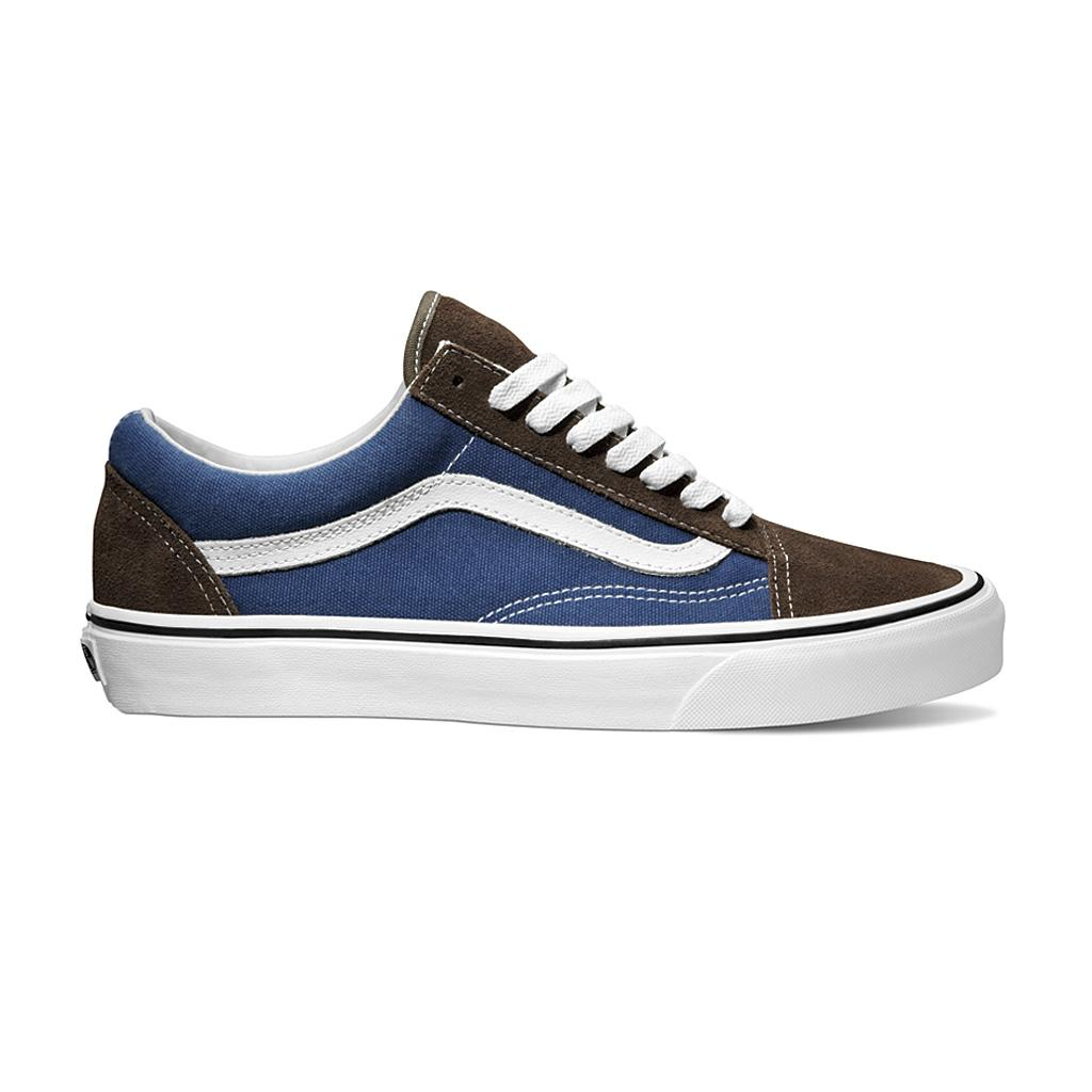 Foto Zapatillas Vans Old Skool Azul/Marrón