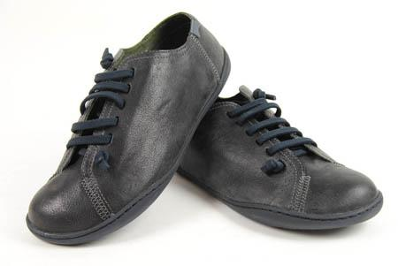Foto zapato camper negro con cordones foto 203714