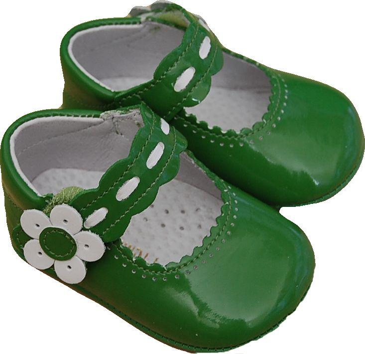 Zapatos verdes para bebé dh86E