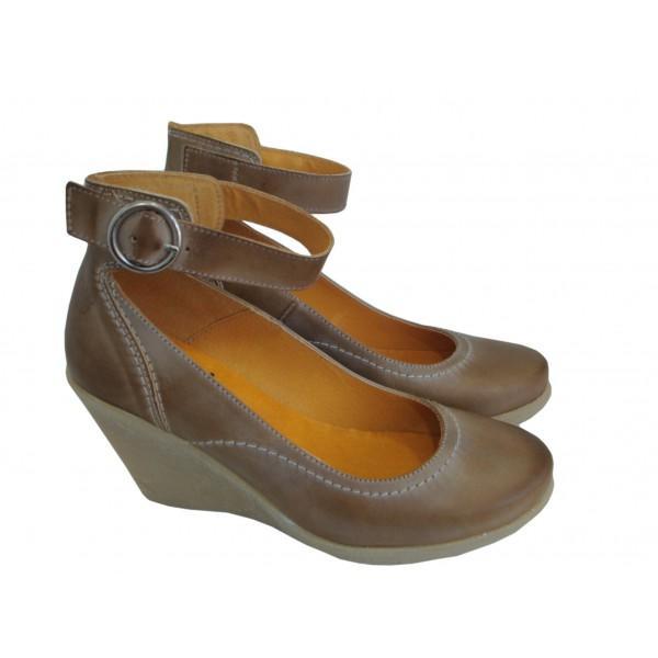 Yokono Cuña Goma Azul Foto Salón 38 550351 Zapatos De jL354qAR