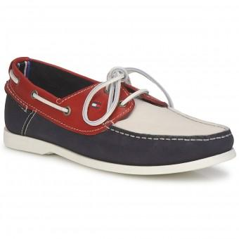 Foto Zapatos tommy hilfiger hombre chino 3 a red