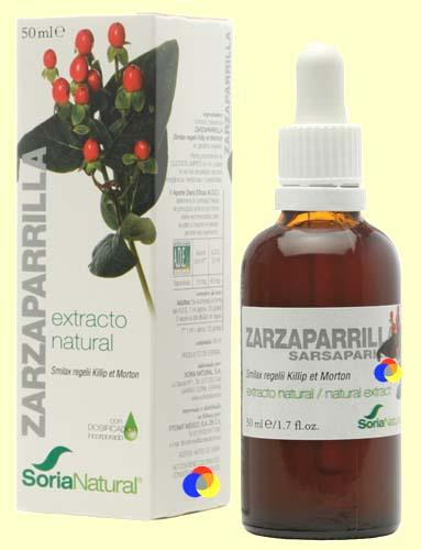 Foto Zarzaparrilla - Extracto de Glicerina Vegetal - Soria Natural - 50 ml